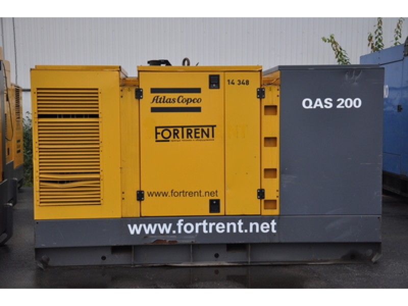 Дизель генератор Atlas Copco QAS 200